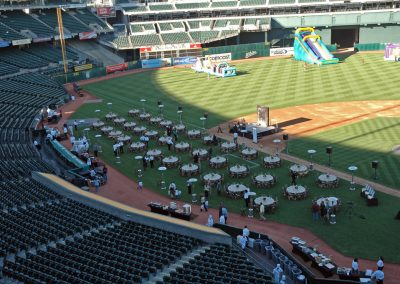 A's Dinner on the Diamond