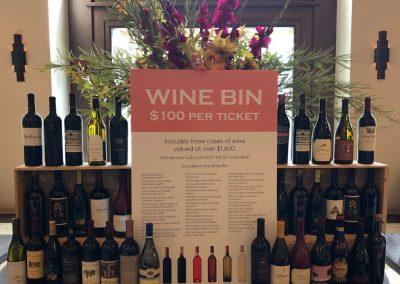 Wine Bin Display